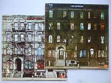 LED ZEPPELIN - PHYSICAL GRAFFITI VOL.1-2 1975 MOZAMBIQUE RARE AFRICAN PRESS PS