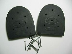 Goodyear Cowboy Boot Repair Rubber Oil Resistant Heels with Nails- Pic-A Size