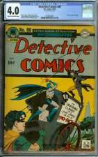 DETECTIVE COMICS #80 CGC 4.0 CR/OW PAGES