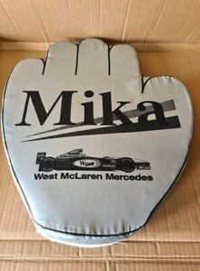 Official West McLaren Mercedes D. Coulthard & M. Hakkinen BIG Hand Seat Cushion