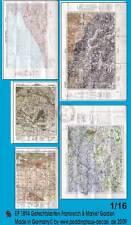 Peddinghaus 1/16 Real Battle Maps of France & Op. Market Garden (5 maps) 1894