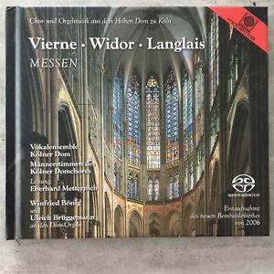 VIERNE / WIDOR / LANGLAIS - Messen - Bönig / Brüggemann (CD Motette 50814 / neu)