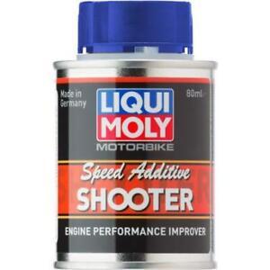 Liqui Moly Motorbike Speed Additive Shooter - Engine Performance Improver - 80ml