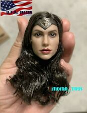 "1/6 Wonder Woman Gal Gadot Female Head Sculpt For 12"" Hot Toys Tbl Figure �Usa�"