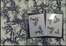 "Camo Buck-O-Flage 2pc kit (2) 12x9"" stencils. Camouflage, Duckboat"
