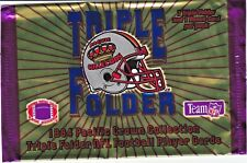 1994 PACIFIC CROWN TRIPLE FOLDERS NFL FOOTBALL *COMPLETE 33 CARD SET* TRADING