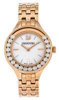 Swarovski Lovely 20 Crystals MOP Dial Rose Gold Tone Mini Women Watch 5261496
