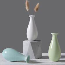 Small Flower Vase Ceramic Fashion Crafts Bottle Flower Vase for Home Decoration