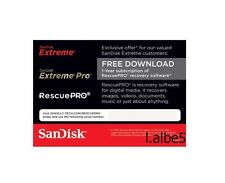 SANDISK RESCUE PRO Deluxe recovery software download code for digital media