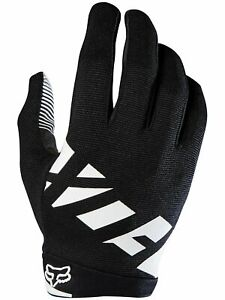 Fox Black/White Racing Mens Gloves Ranger Racing Mountain Bike BMX MTX MTB