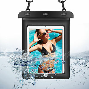 """Tablet Waterproof Underwater PVC Pouch Dry Bag Case Cover for 10.5"""" iPad Air/Pro"""