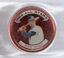 1964 Topps All-Star Coin - #164 Ron Hunt New York Mets