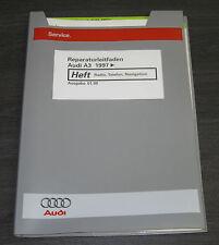 Werkstatthandbuch Audi A3 Typ 8L Radio Telefon Navigation ab Baujahr 1997