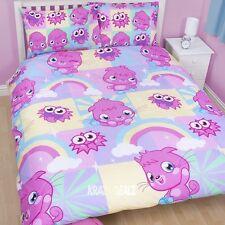 Moshi Monsters Poppet DOUBLE Duvet Cover Bed Set Pillowcases New Gift Moshling