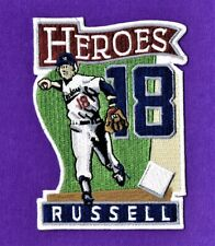 BILL RUSSELL HEROES LA DODGERS AUTHENTIC MLB PATCH