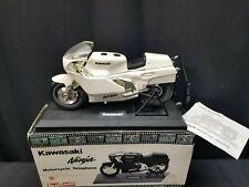 Vintage Kawasaki Ninja Motorcycle Telemania White Corded Telephone