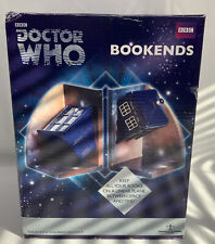 """Doctor Who 6"""" Resin Tardis Bookends Underground Toys BRAND NEW Police Box"""