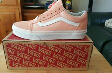 Vans Old Skool Sneaker UK 7 Pelle Scamosciata