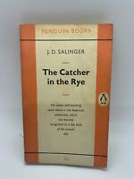 the Catcher in the Rye J D Salinger 1962 Vintage Penguin PB Book Novel