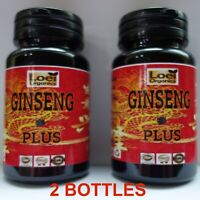 2 X BEST Korean Ginseng panax energy boost 3600 mg Capsule Max Saponin Adaptogen