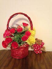 Mother's Day Basket Flower Basket Gift Basket On Sale Was $17.79 Now$13.99