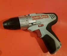 Craftsman NEXTEC Compact Drill/Driver 12V  ~ RARE ~ Works Great! BARE TOOL ONLY