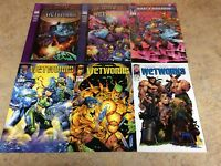 WETWORKS#16,17,18,19,20,21 LOT OF 6 COMIC NM 1996 IMAGE