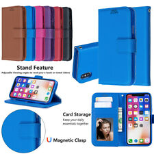 For iPhone 11 Max SE 2020 6s 7 8 PU Leather Wallet Magnetic Flip Card Phone Case