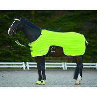 Waldhausen Hi-Viz Reflective Exercise Sheet/Rug - Lightweight/Neon Yellow