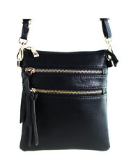 New Functional Multi Pocket Crossbody Bag 80808A,BLACK,WITH TAGS, READY TO SHIP