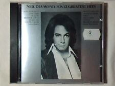 NEIL DIAMOND His 12 greatest hits cd GERMANY FIRST PRESS NO BARCODE