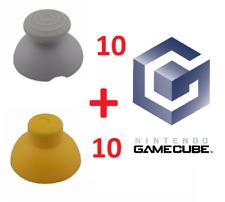 20 Stick Analogique de Remplacement pour manette Gamecube - Joystick gris + jaun