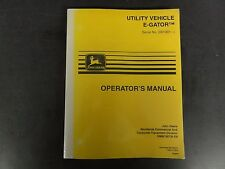 John Deere Gator Utility E-Gator Operator's Manual  OMM135735 E9