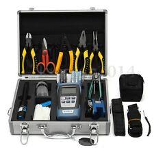 25pcs Optic Fiber FTTH Tool Kit Fiber Cleaver & FC-6S Optical Power Meter W/Box