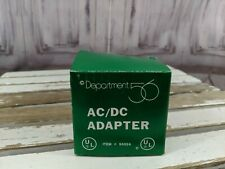 Dept 56 Ac/Dc adapter 55026 cord plug-in electrical
