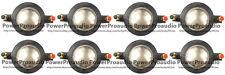 8PCS Mackie 1701Diaphragm for SRM-450 C300Z P-Audio BMD-440 BMD-450 Speaker