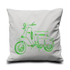 Lambreta Cushion Cover -Screen Printed - 100% Cotton