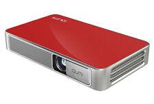 Vivitek Qumi HD 720p Wireless, Bluetooth, WiFi, Pocket DLP Projector - Red - VG