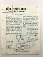 EMD Electro Motive Diesel Locomotive Cooling System Train Service Manual Q859