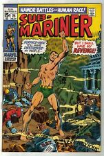 Sub-Mariner #25 Marvel Comics 1970 John Buscema Cover Roy Thomas Bronze Age