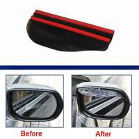 2Pcs Car Rear View Mirror Visor Rain Eyebrow Auto Side Mirror Rain Snow Shield