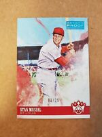 2018 Diamond Kings Artist Proof #d /25 Stan Musial Silver SSP 1/25 First One SP