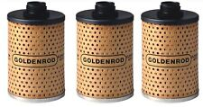 3 Goldenrod Replacement Fuel Filter Element ~ 470-5 Fits Item #1703 - Ships Fast