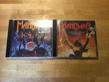 Manowar [2 CD Alben] The Triumph of Steel + Fighting the World
