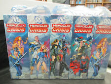 Heroclix DC Crisis Brick (10 Boosters)   New In Shrinkwrap  Sealed