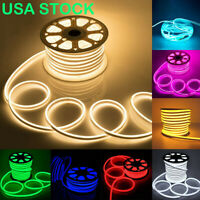 SMD 2835 Flex Neon LED Rope Light Strip Tube Xmas Bar KTV Home Party Decor USA