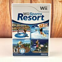 Wii Sports Resort (Wii, 2009) - COMPLETE IN BOX WITH MANUAL FAST FREE SHIP