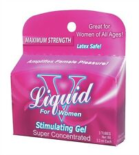LIQUID V BOX FOR WOMEN SEXUAL PLEASURE AMPLIFIER Formulated in a thick gel