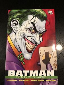 DC Batman The Man Who Laughs -hardcover