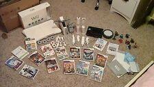 Nintendo Wii system white, sports package, games- Skylander, Super Mario, Lego